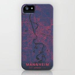 Mannheim, Germany - Neon iPhone Case