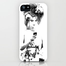 Modern Beau iPhone Case