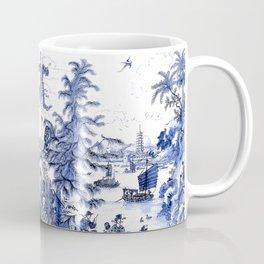 Chinoiserie Blue Landscape Coffee Mug