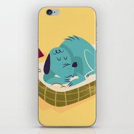:::Sleeping pet dog::: iPhone Skin