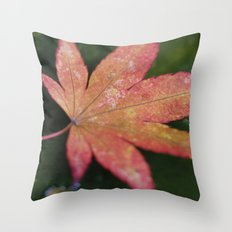 Japanese Maple Leaf 2 Throw Pillow