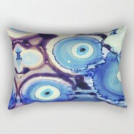 Evil Eye Tears Rectangular Pillow