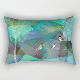 BIRDS P19 Rectangular Pillow
