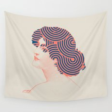 Hair Wall Tapestry