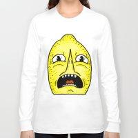 lemongrab Long Sleeve T-shirts featuring LEMONGRAAAAAB by alexSHARKE