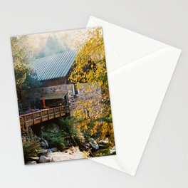 The Millhouse on Lewis Creek - 35mm film Stationery Cards