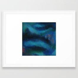 Among the Nebulous Mind Framed Art Print