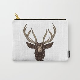 Illustrated Deer Carry-All Pouch