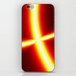 Disco light iPhone Skin
