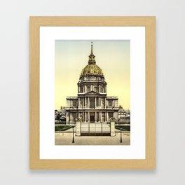 Les Invalides, Paris, France Framed Art Print
