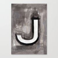 alt j Canvas Prints featuring - J - by Resistenza