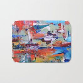 Floating thoughts Bath Mat