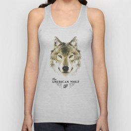 The American Wolf Unisex Tank Top