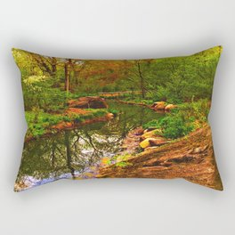 Nature's Heart Healer Rectangular Pillow
