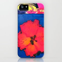 HIBISCUS iPhone Case
