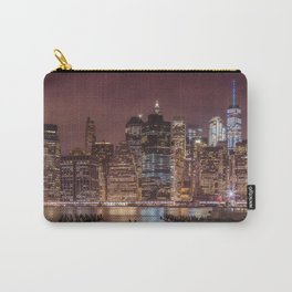 NEW YORK CITY Nightly Impressions | slim panoramic Carry-All Pouch