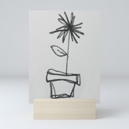 Little Sketch Plants 1 - coloring book (Add your own color!) Mini Art Print
