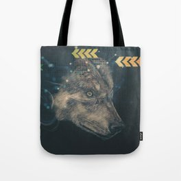 Urban wolf Tote Bag