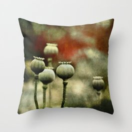 crowned heads Throw Pillow