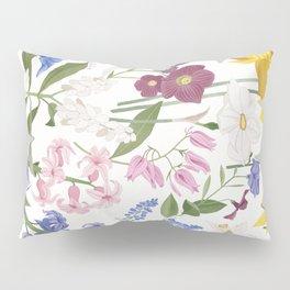 Spring Flowers Pillow Sham
