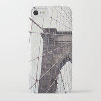 brooklyn bridge iPhone & iPod Cases featuring Brooklyn Bridge by Kameron Elisabeth