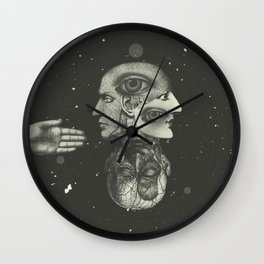 COSMIC ANATOMY  Wall Clock