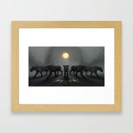 Harness Framed Art Print