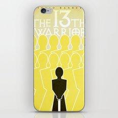 The 13th Warrior iPhone & iPod Skin