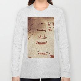 Pictogram at Vitlycke, Sweden 9 Long Sleeve T-shirt