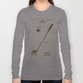 Golf Club Patent - Circa 1903 Long Sleeve T-shirt