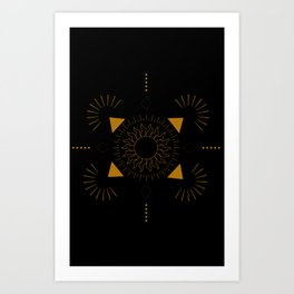 Ancient Shine Art Print