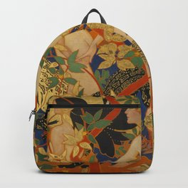 DIANA AND HER NYMPHS - ROBERT BURNS Backpack