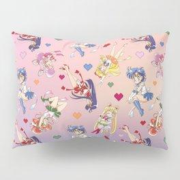Chibi Super Inner Pattern Pillow Sham