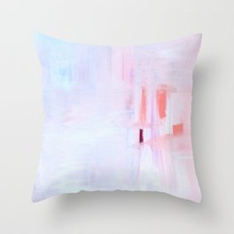 SUNSET AT SNOWY RiVER Throw Pillow