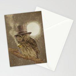 Night Smoke Stationery Cards