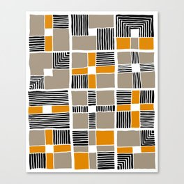 pattern 49 Canvas Print