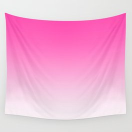 Pink Ombre Gradient Wall Tapestry