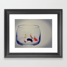 MixMotion: Duos and Trios Framed Art Print
