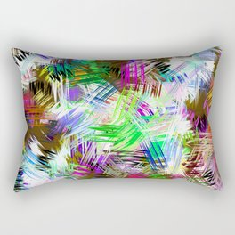 Paint brushes Rectangular Pillow