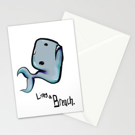 Lifes a Breach Stationery Cards