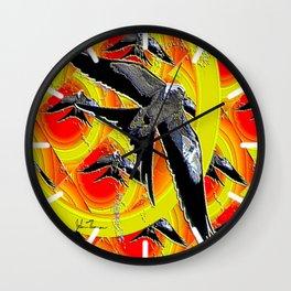 Swallow tailed Kite 4 Wall Clock