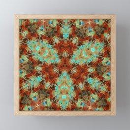 Scifi Rustic Geometric Framed Mini Art Print