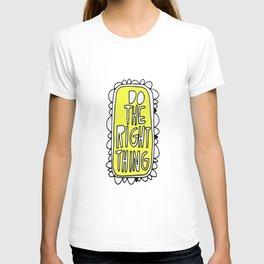 Rule #1: Yellow T-shirt