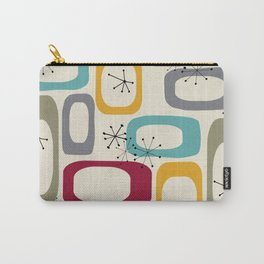 Mid Century Modern Shapes 01 #society6 #buyart  Carry-All Pouch