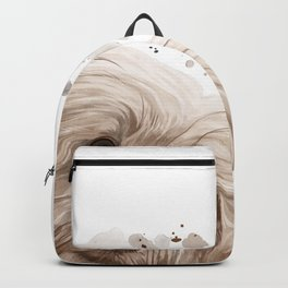 Curious Havanese Dog Backpack