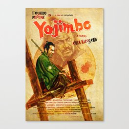 YoJimbo Style A Canvas Print