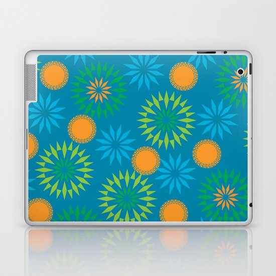 Spikey Flower Calm Laptop & iPad Skin
