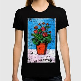 La Maceta Mexican Loteria Bingo Card T-shirt