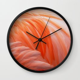 FLAMINGO FLAME Wall Clock