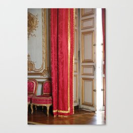 Versailles - Behind The Curtain Canvas Print